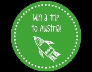 Green Win a trip button 300x233
