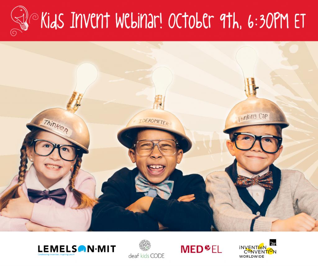 kids invent webinar october 9th
